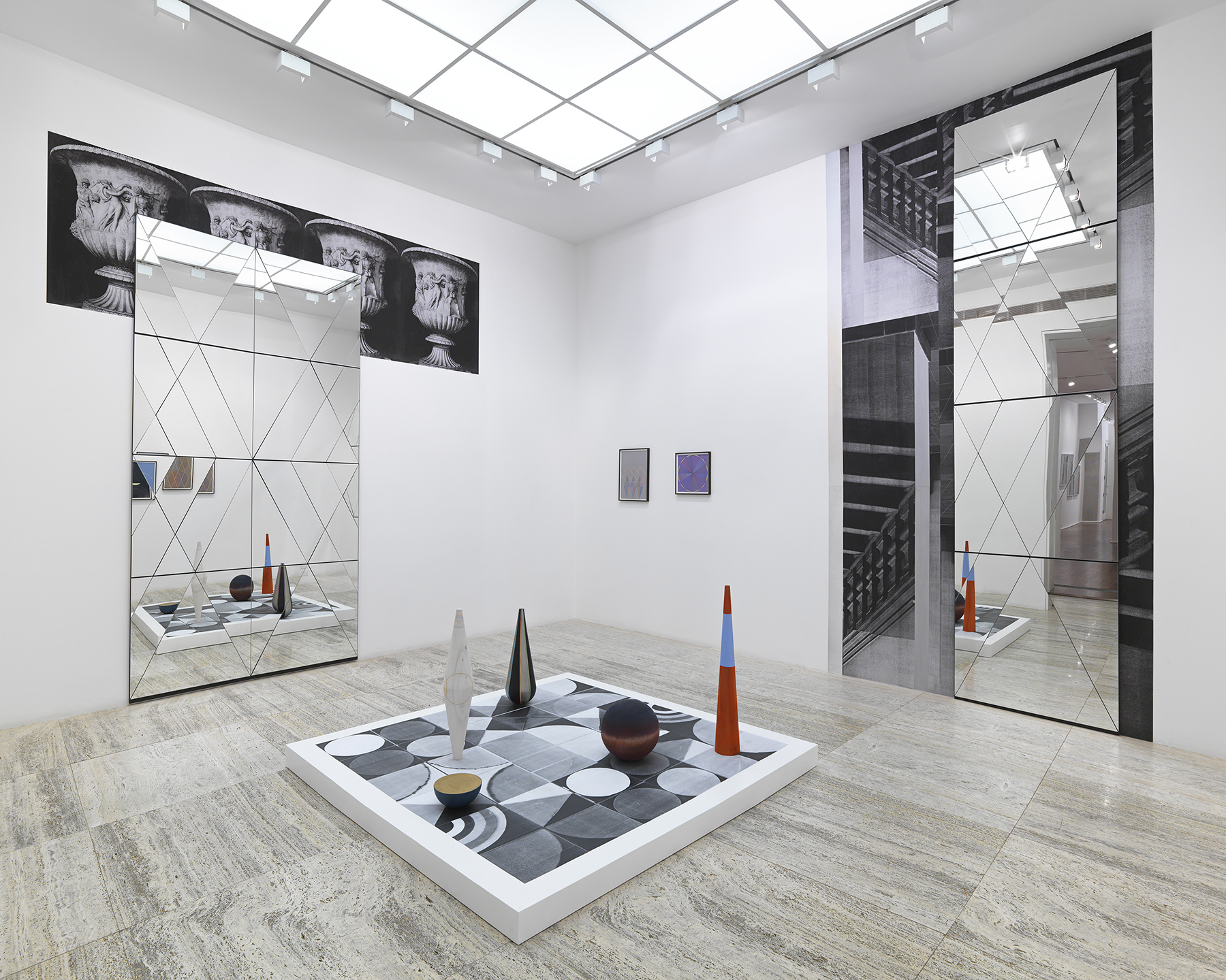 Claudia Wieser, Installation from Passing Leap, Hauser and Wirth, New York, 2015. Courtesy The Artist and Marianne Boesky Gallery (1)