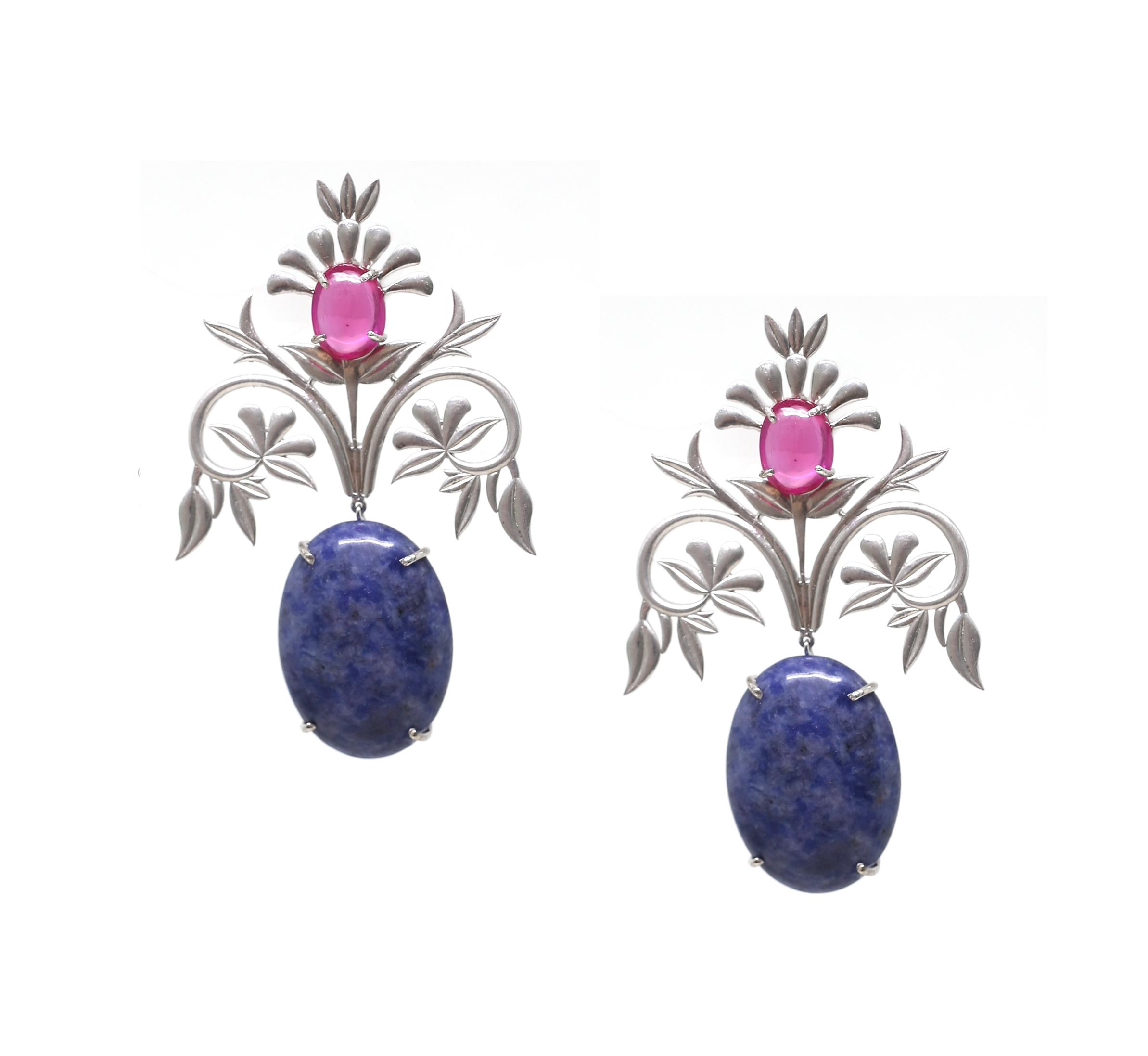 Sheen Flora Earrings