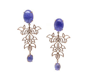 Sheen Leaf Drop Tanzanite