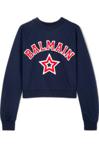 Balmain Cotton-Jersey Sweatshirt