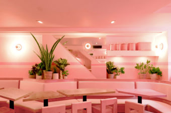 Inside New York's Pinkest Restaurant