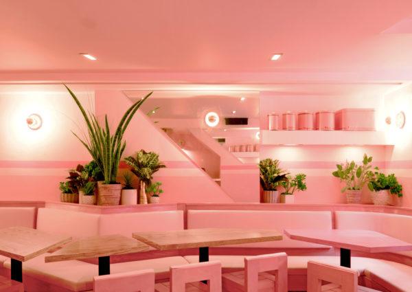 Inside New York's Pinkest Restaurant