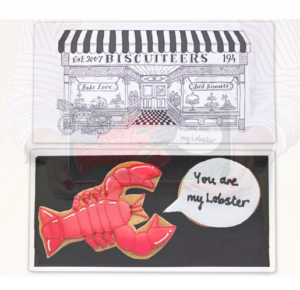 Biscuiteer's Lobster Biscuit Card
