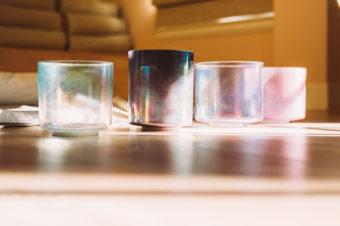 Inside Crystal Bowl Healing at Re:Mind Studio