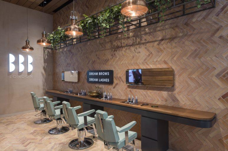 Inside Blink Brow Bar