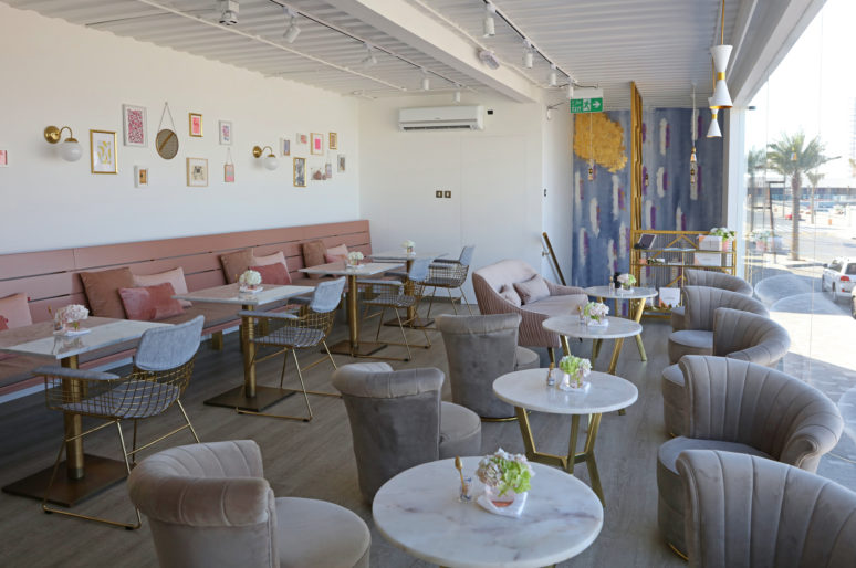 Inside Pastryology Dubai